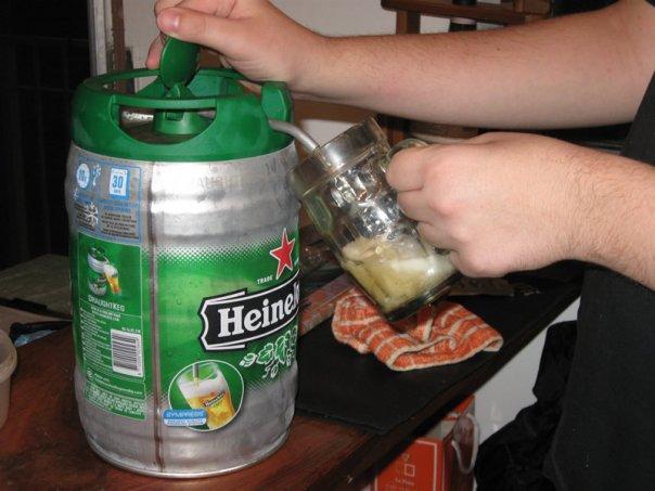 Cervezas - Heineken 5l. Keg (2/3)