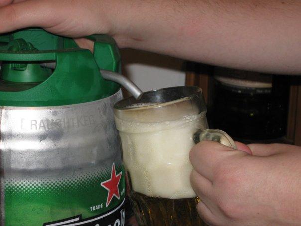 Cervezas - Heineken 5l. Keg (3/3)